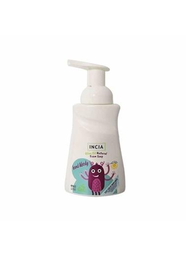 Incia Incia Olive Oil Natural Foam Soap For Kids 200ml Renksiz